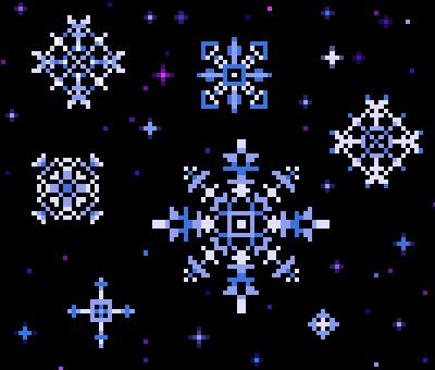 PixelSnowflakes